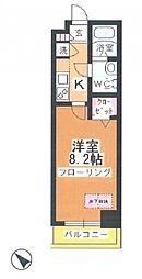アルファコート川越脇田I[9階]の間取り