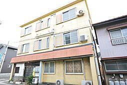 静岡県静岡市駿河区小鹿の賃貸アパートの外観