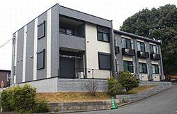 東京都多摩市落合3丁目の賃貸アパートの外観