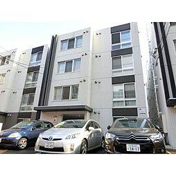 北海道札幌市豊平区中の島一条1丁目の賃貸マンションの外観