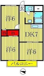 マンション小澤[1階]の間取り