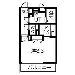 Grande柴田[2階]の間取り