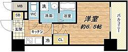 Core本町[8階]の間取り