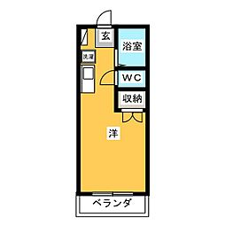 KAYO[1階]の間取り