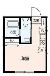 KANAZAWA FLOORS[102号室]の間取り