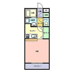 De`aje(デージュ)[303号室]の間取り