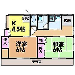 [一戸建] 愛媛県松山市西石井5丁目 の賃貸【/】の間取り