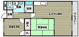 日吉壱番館[3階]の間取り