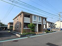 愛媛県松山市星岡5丁目の賃貸アパートの外観