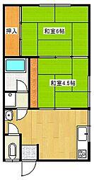 昭和ハウス[1階]の間取り