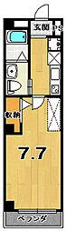 RUSCELLO-UNO(ルシェッロ ウノ)[3階]の間取り