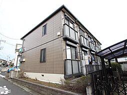 千葉県流山市東初石2丁目の賃貸アパートの外観