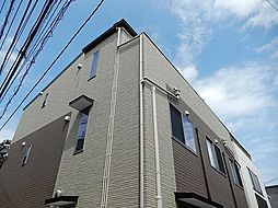 東京都江東区北砂6丁目の賃貸アパートの外観