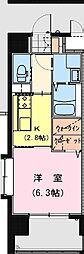 California APT ~カリフォルニア アパートメント~ 9階1Kの間取り