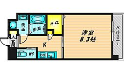 Forest Grace 高井田I 5階1Kの間取り