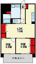 シェアンジュ21[7階]の間取り