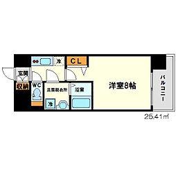 Lalaplace新大阪LD(ララプレイス新大阪LD)[5階]の間取り