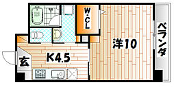 LITTLE 1 檜垣[1階]の間取り