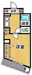 コーポタニヤマ[3階]の間取り