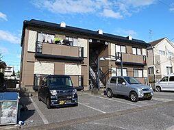 千葉県市原市惣社3丁目の賃貸アパートの外観