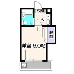 メゾンミタケ第5[2階]の間取り