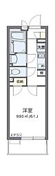 Osaka Metro中央線 朝潮橋駅 徒歩9分の賃貸マンション 3階1Kの間取り