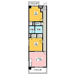 ステージM[2階]の間取り