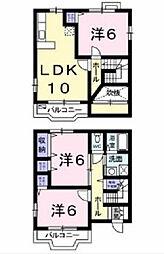 [一戸建] 大阪府八尾市竹渕西1丁目 の賃貸【/】の間取り