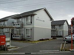 長野県松本市大字里山辺の賃貸アパートの外観