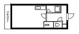 北海道札幌市豊平区豊平三条8丁目の賃貸マンションの間取り