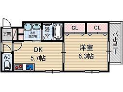 SAKURA7[1階]の間取り