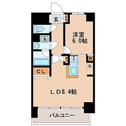 La Douceur青葉小田原[8階]の間取り