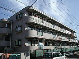 東京都府中市白糸台3丁目の賃貸マンションの外観