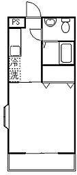 ヴィラフィオーレ[1階]の間取り