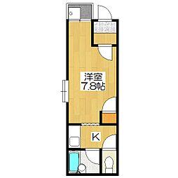 メゾン・イースター[4階]の間取り