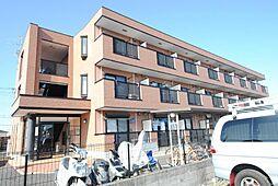 埼玉県越谷市弥十郎の賃貸マンションの外観
