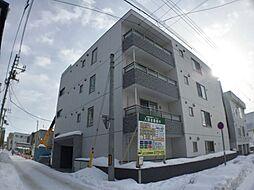 北海道札幌市中央区南十条西9丁目の賃貸マンションの外観