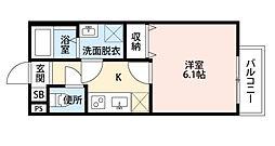 village響 二号館[2階]の間取り