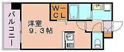 エンクレストベイ天神東II[3階]の間取り