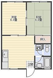 KNハイム[2階]の間取り