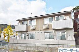 福岡県北九州市若松区赤島町の賃貸アパートの外観