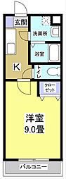 エコパビュー[5階]の間取り
