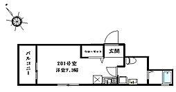 仮)幕張5丁目新築アパート[2階]の間取り