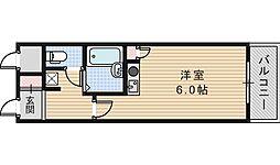 トーシン昭和町ビル[704号室]の間取り