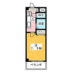 アイリス八事[3階]の間取り