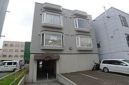 北海道札幌市豊平区平岸一条8の賃貸アパートの外観