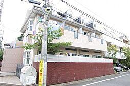 東京都世田谷区成城9丁目の賃貸アパートの外観