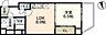 間取り,1LDK,面積38.19m2,賃料9.6万円,JR山陽本線 広島駅 徒歩15分,広島電鉄1系統 八丁堀駅 徒歩6分,広島県広島市中区八丁堀