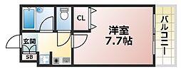 シェレナ六甲[3階]の間取り