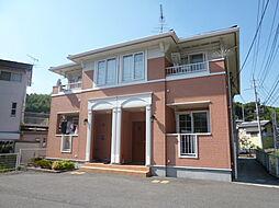 岡山県都窪郡早島町早島の賃貸アパートの外観
